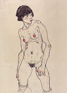 Quality Prints - Laminated 15x21 Vibrant Durable Photo Poster - Egon Schiele - The Courtauld Gallery