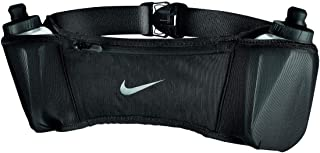 Double Pocket Flask Belt 20OZ 2.O OSFM Black/Black/Silver