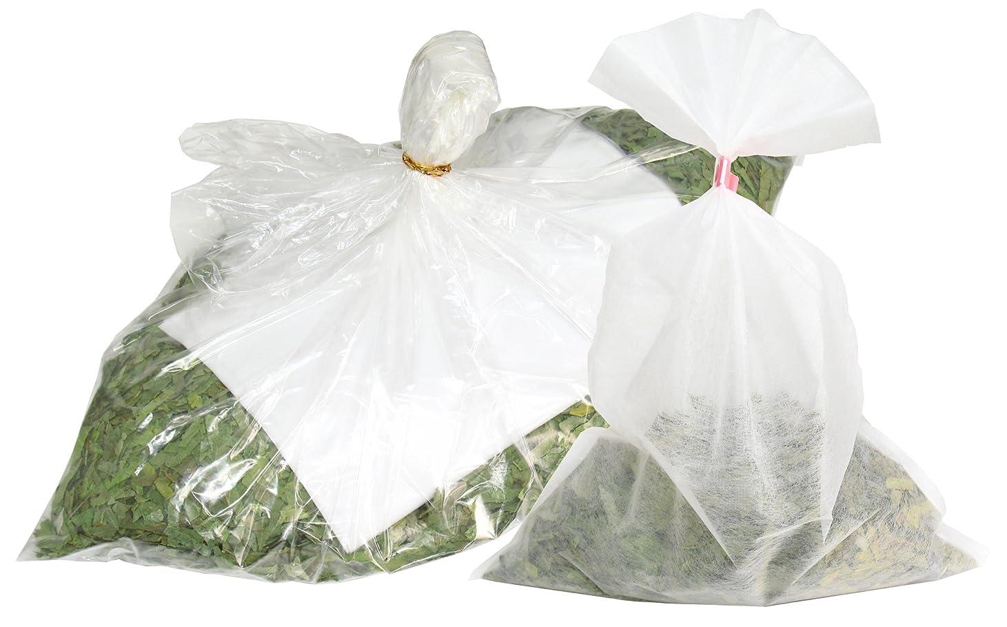 三角形速報不誠実自然健康社 シジュウムの湯 600g 乾燥刻み 不織布付き