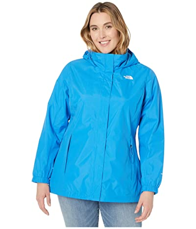 The North Face Plus Size Resolve 2 Jacket (Clear Lake Blue) Women