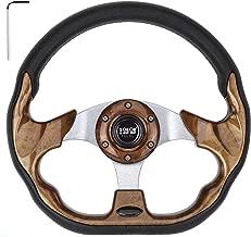 10L0L Generic Golf Cart Yamaha EZGO Club Car Steering Wheel or Adapter for DS Club Car Precedent