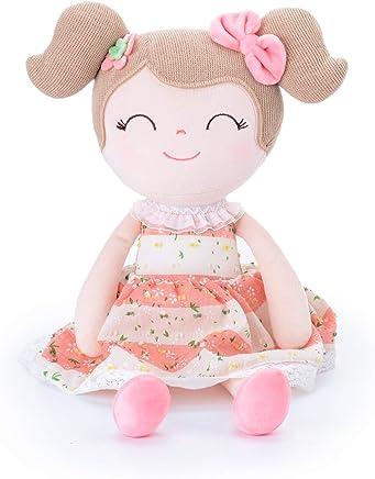 Gloveleya Baby Doll Baby Girl Gifts Cloth Dolls Kids Plush Toys 16.5 …