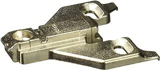 Blum 175L6600.22 0 mm Die Cast Screw on Face Frame Mounting Plate, Die-Cast, Nickel Plated