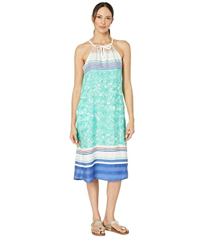 Prana Parisol Midi Dress (Aqua Canopy) Women