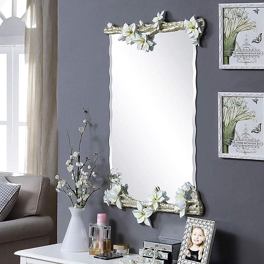 なだめるポータル推測メイクアップミラー, 長方形のバスルームミラー、卓上鏡、化粧鏡、壁掛けキットを修正ハンギング 浴室用化粧鏡 (Color : C)
