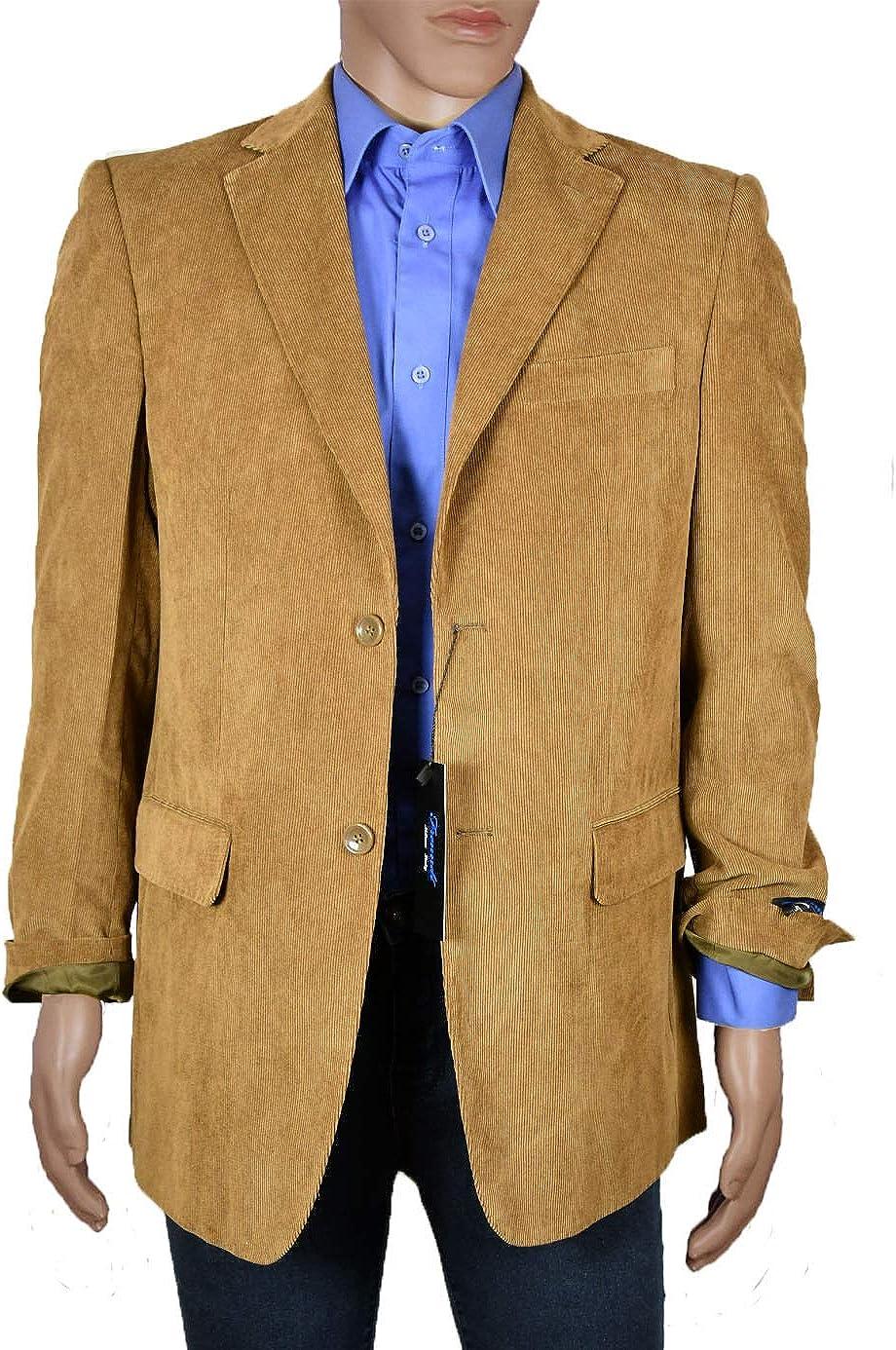 Men's Brown Corduroy Blazer with Half Price