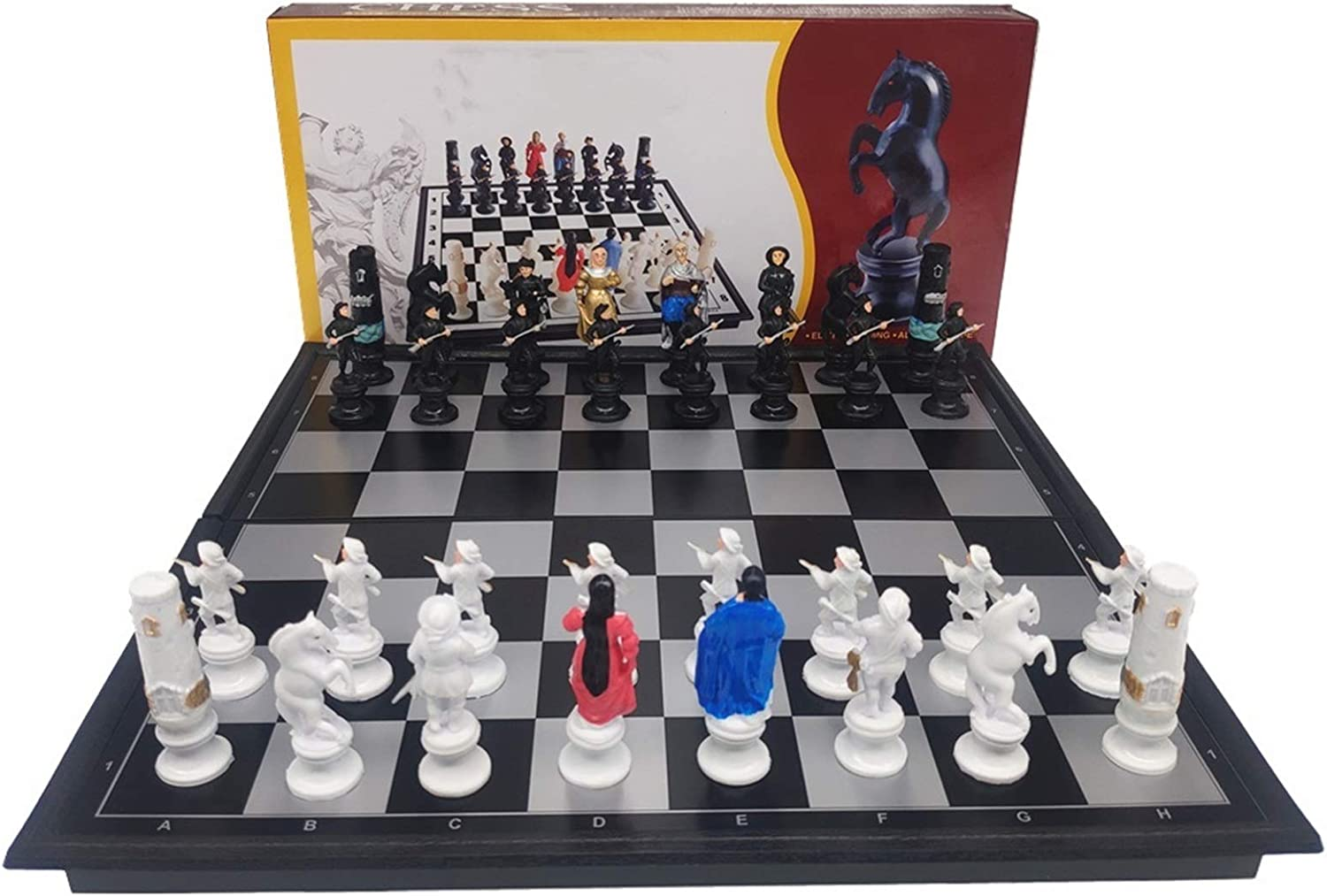 LILINGJIA Chess Cartoon Character Dallas Mall Decoration Magnetic Larg quality assurance
