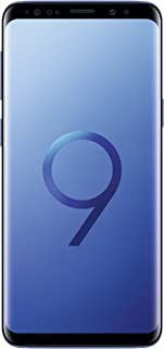 Samsung Galaxy S9 (SM-G960F/DS) 4GB / 64GB 5.8-inches LTE Dual SIM Factory Unlocked (Coral Blue)