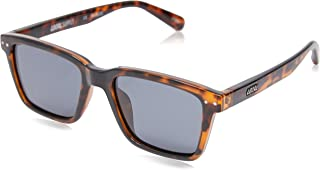 Local Supply Men's COAST Polarized Sunglasses - Dark Grey Tint Lens, Polished Tortoiseshell Frames