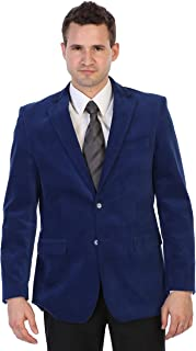 Gioberti Mens Cotton Velvet Blazer Jacket