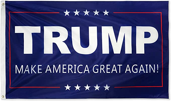 Amazon.com : DFLIVE Donald Trump for President 3x5 Feet Make America Great  Again Printed Flag with Grommets : Garden & Outdoor
