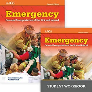 Emergency Care and Transportation of the Sick and Injured Includes Navigate 2 Essentials Access  + Emergency Care and Transportation of the Sick and Injured Student Workbook (Orange Book)