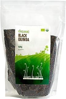 Down To Earth Organic Black Quinoa, Naturally Gluten-Free Quinoa - 500 gms