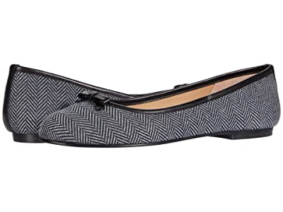 French Sole Nicky Hilton Theodora (Herringbone/Black) Women