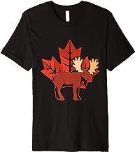 Maple Leaf Moose Canada Premium T-Shirt