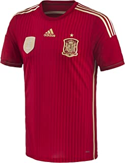 adidas Spain Home Authentic Jersey World Cup 2014