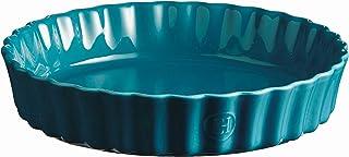 Emile Henry Pie Dish, 24 cm, Blue