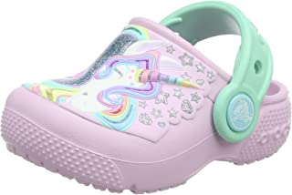 Crocs Unisex-Child Fun Lab Girls Graphic Clog