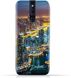 AMC Design Oppo F11 Pro TPU Silicone Case with Dubai Marina Pattern