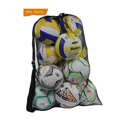 Pro-traveller Extra Large Sports Drawstring Mesh Ball Bag Football Training  Equipment Storage Bag Diving cc0f4533bd10d