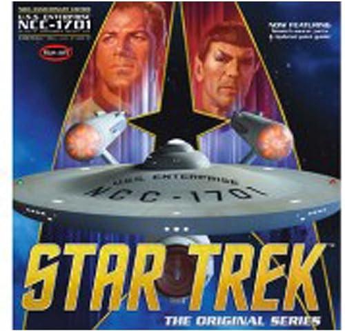 connotación de lujo discreta Polar Lights Star Trek Tos Enterprise Enterprise Enterprise 50th Anniversary Edition - Juego de Modelos de Escala 1 350  precio razonable
