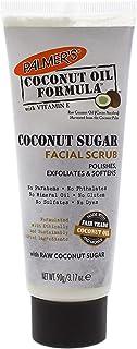 Palmer's Coconut Oil Formula, Sugar Facial Scrub Exfoliator | Polishes & Softens | Squeeze Tube 3.17 oz.