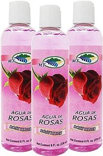 Agua De Rosas 8 Oz. Rose Water Facial Toner 3-PACK