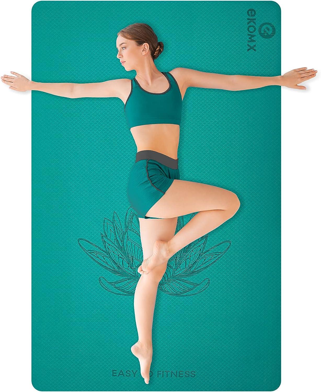 Ekomx Regular store Extra Large Yoga Mat for Women 72