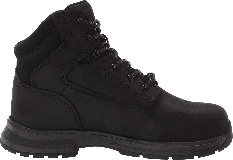 WOLVERINE Mens Logan ESD Steel-Toe 6 Boot Construction