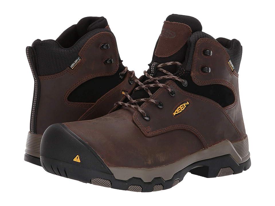 Keen Utility Rockford 6 Composite Toe WP (Cascade Brown/Black) Men