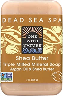 One With Nature Soap Bar Shea Butter