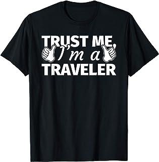 Cadeaux de voyageurs - Voyager drôle T-Shirt