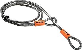 Kryptonite 720018210818 Kryptoflex Looped Cable, 120cm x 10mm