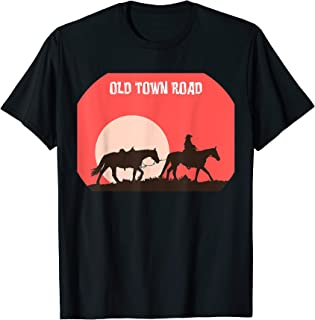 Old Town Road Tee Horse Boy Girl great gift T-shirt