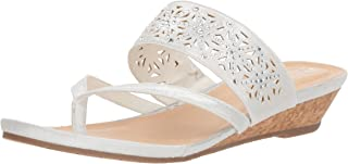 white wedges low heel