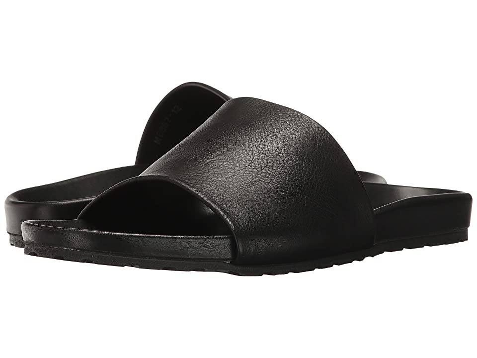 Massimo Matteo Comfort Slide (Black) Men