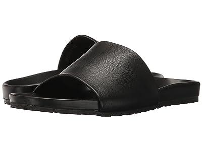 Massimo Matteo Comfort Slide (Black) Men