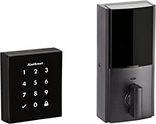 Kwikset 99540-002 Obsidian Keyless Z-Wave Electronic Touchscreen Deadbolt, Venetian Bronze