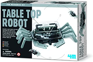 4M Table Top Robot - DIY Robotics Stem Toys, Engineering Edge Detector Gift for Kids & Teens, Boys & Girls (Packaging May Vary)