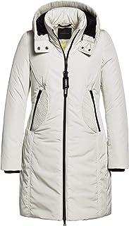 Creenstone Reversable Padded Long Coat: Amazon.co.uk: Clothing