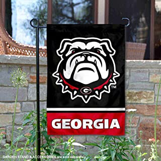 College Flags and Banners Co. University of Georgia Bulldogs Garden Flag