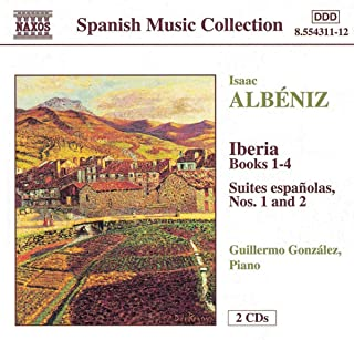Iberia Books 1-4 (Piano G.Gonzalez)