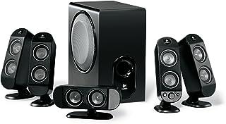 Logitech X-530 Conjunto de Altavoces 5.1 Canales 70 W Negro - Set de Altavoces (5.1 Canales, 70 W, PC, Negro, 96 dB, 45 W)