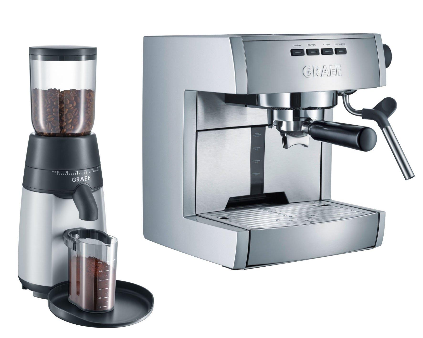 Graef ES70EU Set - Cafetera espresso + CM 70: Amazon.es: Hogar
