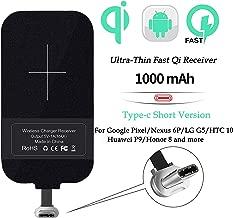 Wireless Charging Receiver,Nillkin Magic Tags Wireless Charger Receiver Chip 5W Qi Wireless Charging Standard (Type C - Short Version)