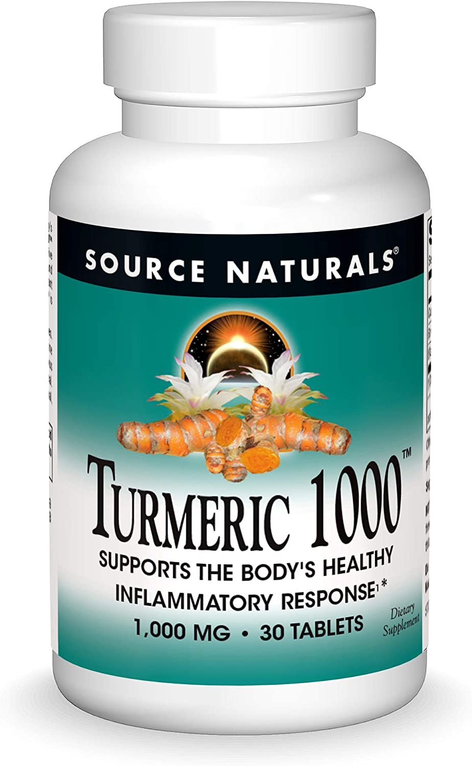 Source Naturals Washington Mall low-pricing Turmeric 1000 Supports Healthy Body's Infla The
