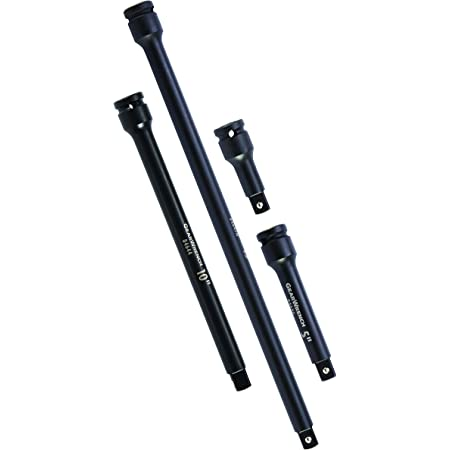 """GEARWRENCH 4 Pc. 1/2"""" Drive Impact Extension Set 3"""", 5"""", 10"""" & 15"""" - 84950N"""