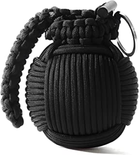 Holtzman's Survival Kit Paracord Grenade The #1 Best 48 Tool Emergency kit