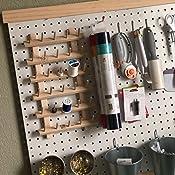 June Tailor Wood Thread Rack 30 Mini Spool w//Legs WoodThreadRack30MiniSpoolwLegs