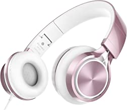 AILIHEN MS300 Wired Headphones, Stereo Foldable Headset for iOS Android Smartphone Laptop Tablet...